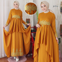 setelan hijab gamis dress maxy baju pesta party Latin