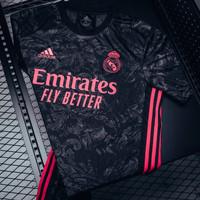 Jersey Baju Bola Real Madrid 3rd 2020-2021 Grade Ori Import - L