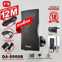 ANTENA TV LED PX OUTDOOR INDOOR BOSSTER FREE KABEL 12 METER DA5900
