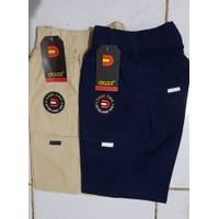 2 pcs Celana Pendek Cargo Anak Laki-laki Umur 7-12 Tahun
