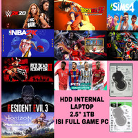 Hardisk HDD Laptop Internal 1TB Isi Full Game PC Seagate