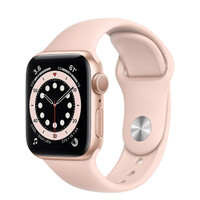 Apple Watch Series 6 40mm Gold Aluminum with Sport Band / Loop