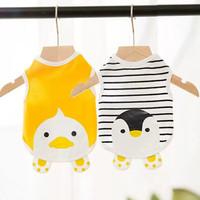 Baju Anjing Kucing Tipis Comfy Tshirt Sleeveless - Duck and/or Penguin