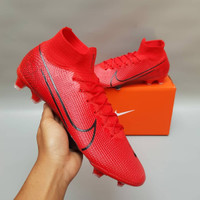 Sepatu Bola Nike Mercurial Superfly VII Red FG