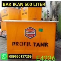 Bak Fiber Kolam Ikan 500 Liter Profil Tank E4236