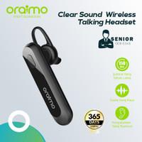 Oraimo Talking Bluetooth Headset Wireless Earphone Handsfree OEB-E34S