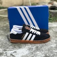 sepatu Adidas Hamburg black white