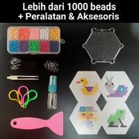 1 Set Mainan Edukasi Anak -Aquabeads Aquabead Aqua Beads Beados Refill