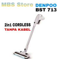 Vacuum Cleaner Denpoo 2 in 1 Cordless BST 713 (Tanpa Kabel)