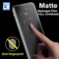 SAMSUNG A8 PLUS 2018 HYDROGEL MATTE ANTI GORES ANTI GLARE - MATTE, DEPAN BELAKANG