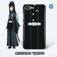 Case Kimetsu No Yaiba 3D Anime Custom - Muichiro Tokito Suit - SOFTCASE