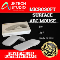 Microsoft Surface Arc Touch Mouse Bluetooth Light Gray / Red Original