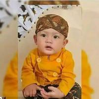 Beskap Baby - Beskap Balita 0 - 5 Tahun - Baju Adat Anak