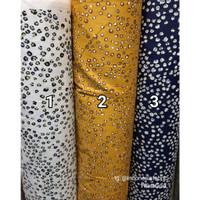 Kain bahan Katun Jepang Tokai senko motif Leopard