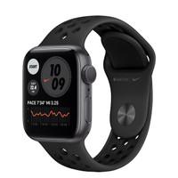 Apple Watch Series 6 40mm Space Gray with Black Nike Band / Sport Loop