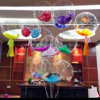 Balon PVC transparan / PVC ballon 18inch high Quality