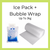 Extra Packing (Bubble Wrap + Ice Pack) Up to 3kg