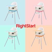 Right Start High Chair 3 in 1 Hc-2371 Kursi Makan Bayi 4 Posisi - Merah Muda