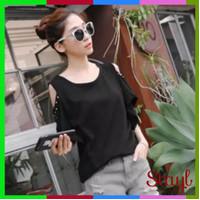 Ld 126 Fit To 3Xl Blouse Atasan Wanita Babol Bahu Bolong Bigsize Baju