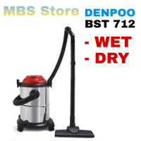 Vacuum Cleaner Wet & Dry & Blow Drum Denpoo BST-712