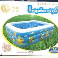 Kolam renang anak jumbo 180cm / portable swimming pool / kolam main