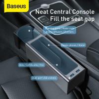 KOTAK PENYIMPANAN ORGANIZER BANGKU MOBIL BASEUS CAR SEAT STORAGE
