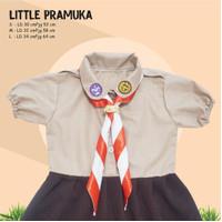 Baju Seragam Little pramuka Perempuan Unik Scout