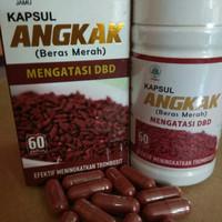 kapsul Angkak beras merah / obat DBD demam berdarah alami herbal 100%