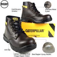 Sepatu Safety - sepatu Caterpillar safety kerja lapangan#sepatuKerja