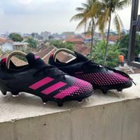Sepatu Bola Adidas Predator Mutator 20.1 Black Pink FG