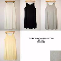 Baju Dalam Dress Elena Wanita Katun E 7601 Tanktop Dress Lembut Dingin