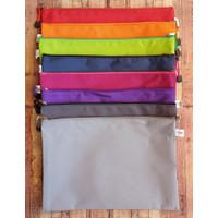 Zipper Bag Tebal Bahan Parasut A4 V-Tec 6010-A4 - Map Kain Tebal -