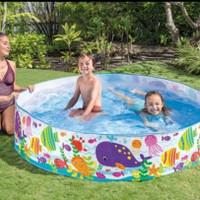 Kolam renang anak-kolam renang INTEX tanpa di pompa ukuran 183 cm