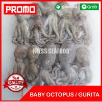 Baby Octopus 1kg/Baby Gurita Murah/Baby Octopus/Gurita