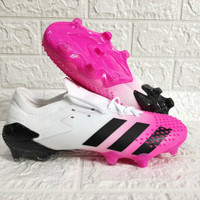 Sepatu Bola Adidas Predator Mutator 20.1 White Pink FG