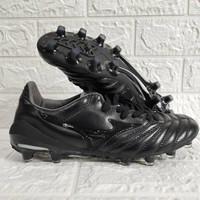 Sepatu Bola Mizuno Morelia Neo II Leather Full Black MD