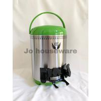 Water jar dispenser drink jar stainless steel 9.5 liter dua tuas H98TS