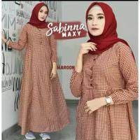 sabina dress baju gamis pakaian wanita fashion muslim
