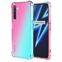 Shock Gradient Case Realme 6 Pro - Original Clear Soft Bening Cover