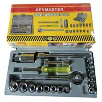 Kenmaster Kunci Sok 21 Pcs Socket Wrench Set