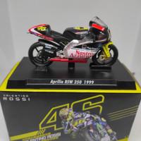 (GRN) Miniatur Diecast Valentino Rossi Aprilia RSW 250 Tahun 1999
