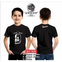 Kaos Baju Anak Motor VESPA PX Kaos Otomotif - Gilan Cloth