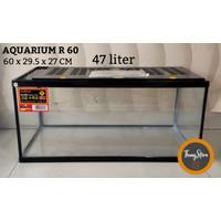 Aquarium Reptil Nikita Star R 60 - 47 L (KHUSUS GOJEK/GRAB)