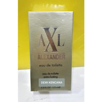 AXL Alexander Eau De Toilette 125ml GOLD / Parfum Spray Natural Murah