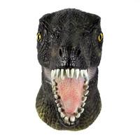 TOL-16 topeng latex karet full head kepala dinosaurus jurassic world