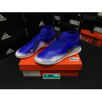 Sepatu Futsal Nike Phantom VSN Academy DF IC Blue White AO3267-410 Ori