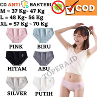 Celana Dalam Wanita Renda Seamless AntiBakteri M / L / XL