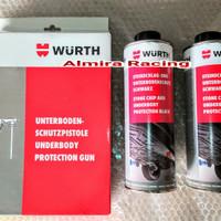Underbody Protection Wurth (karet) 2btl Gun - Anti karat kolong mobil
