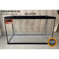 Aquarium Nikita Star M 60 - 60 L (KHUSUS GOJEK/GRAB)