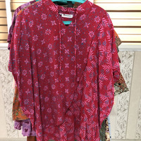 Preloved Second Baju Atasan Batik Keris All size Viscose Wax
